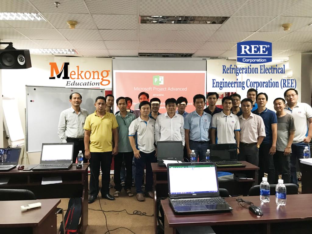 Khoá đào tạo MS Project cho REE